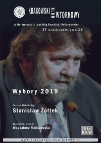 Wybory 2019 - Stanisław Żółtek